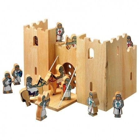 Lanka Kade Wooden Castle Playscene