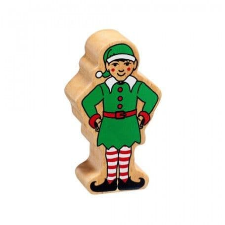 Lanka Kade Wooden Christmas Elf