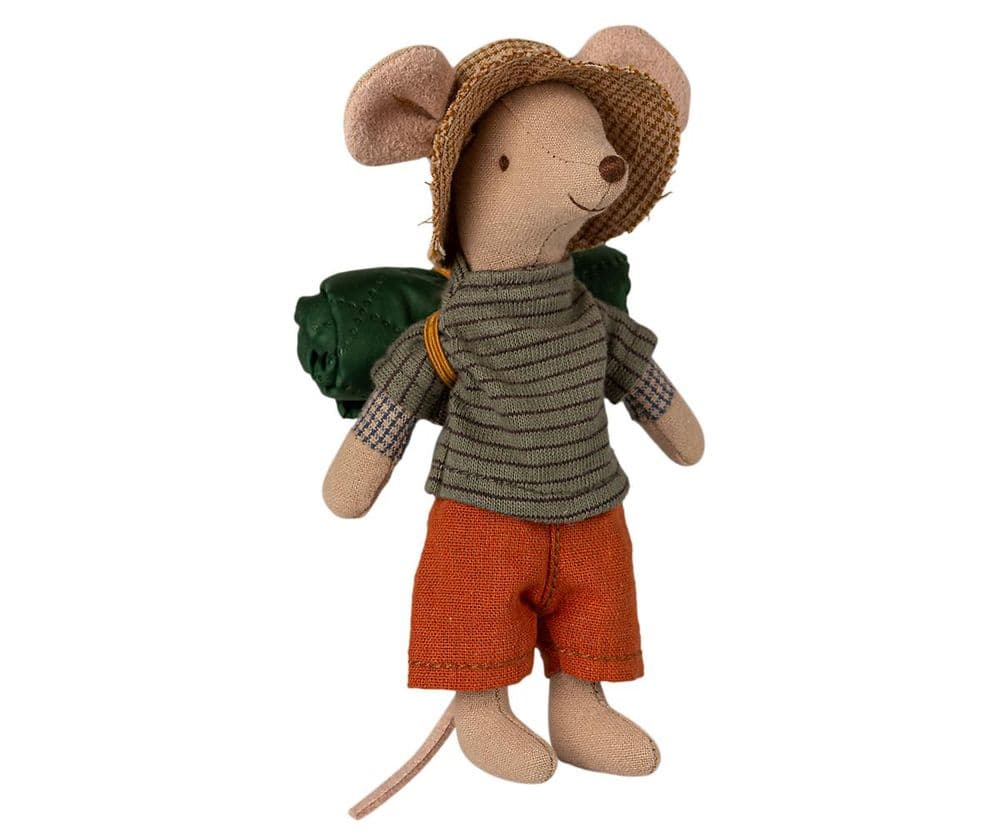 Maileg Big Brother Hiker Mouse Soft Toy