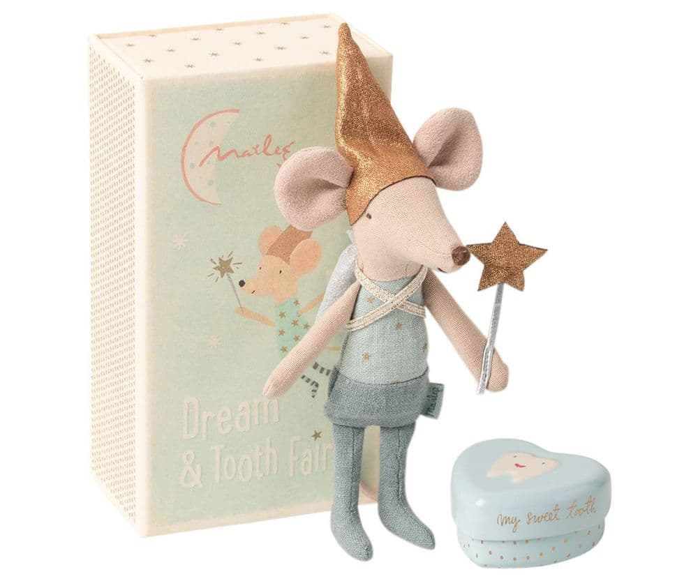 Maileg Big Brother Tooth Fairy Mouse In Matchbox