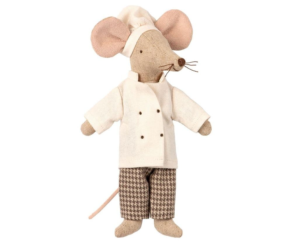Maileg Chef Mouse Soft Toy