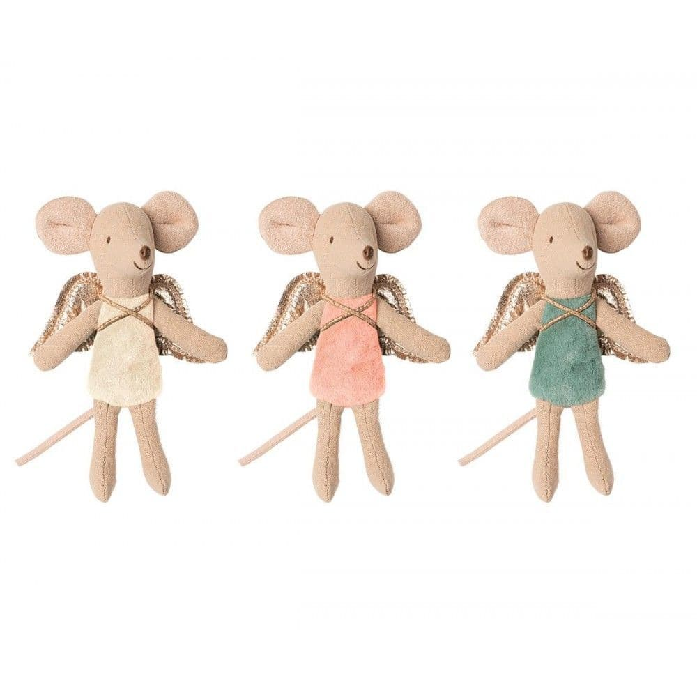 Maileg Little Sister Fairy Mouse Soft Toy - Assorted Colours