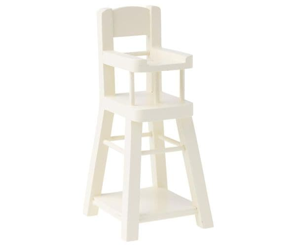Maileg Micro White High Chair For Mice