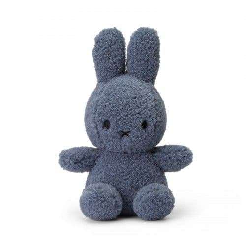 Miffy 100% Recycled Soft Teddy 23cm - Blue