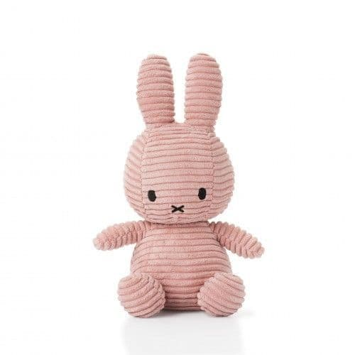 Miffy Corduroy Soft Toy 24cm - Pink
