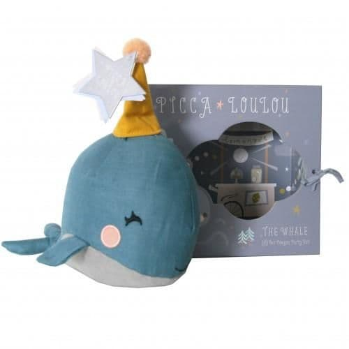 Picca LouLou Blue Whale In A Gift Box