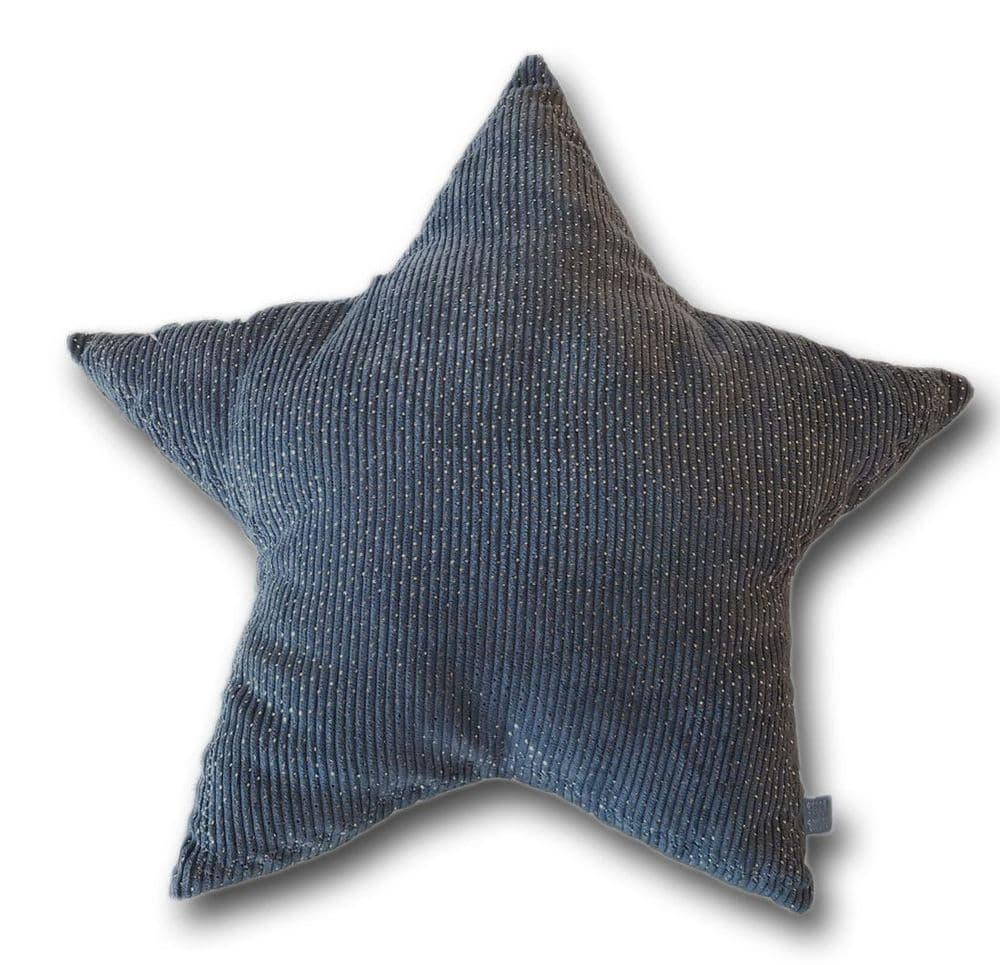 Picca LouLou Grey Star Cushion