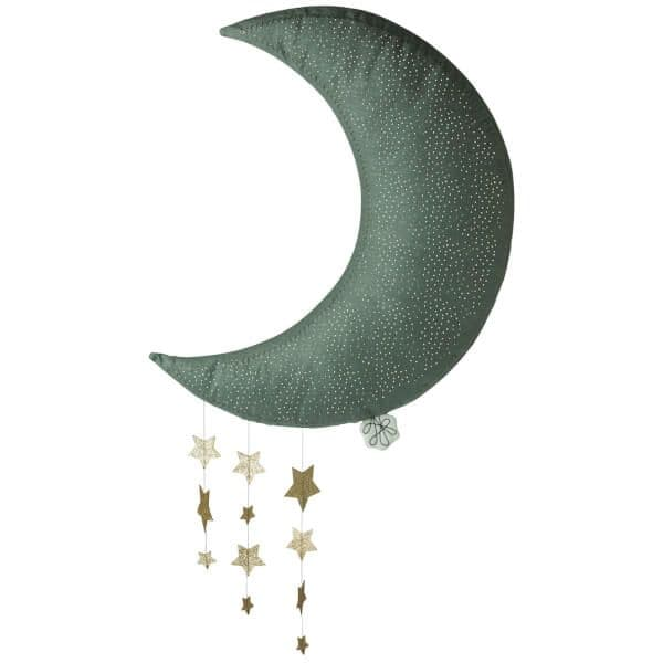 Picca LouLou Hanging Moon with Stars - Grey