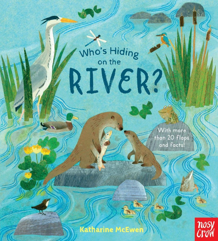 Who's Hiding On The River By Katharine McEwen