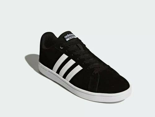 adidas CloudFoam Advantage Black Suede Trainer Shoe B74226 UK5 UK5.5 free UK del