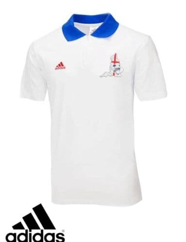 adidas Mens England Polo Shirt Football ideal for World Cup X17941 - free 1st de