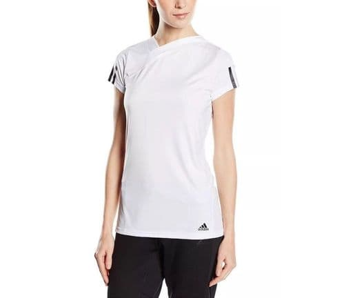 adidas performance Response Junior Girls Tennis T-shirt Tee S15881 BNWT free del