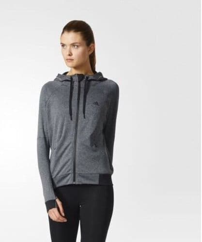 adidas Performance Womens Hoodie training Top Jacket BNWT free delivery