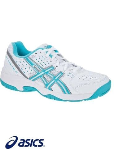 Asics Gel Padel Pro 2 GS Trainers Junior Girls Gel Cushioning Brand New with tag