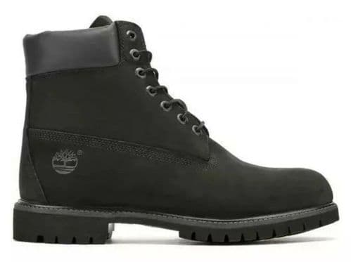 Timberland 6 Inch Classic Premium Mens Wide Black Waterproof Boots Size 7.5-12.5