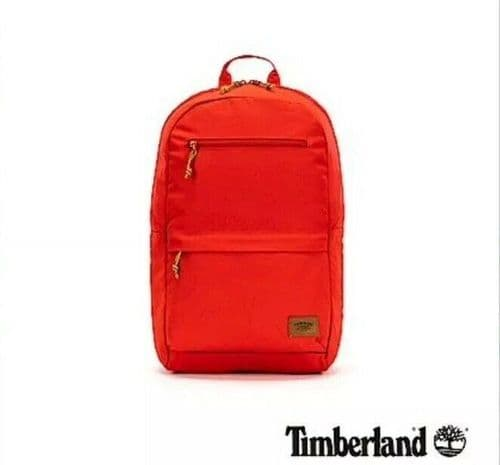 Timberland Backpack Bag School Bag Gym Bag Red TB0A1CS9 BNWT free UK delivery