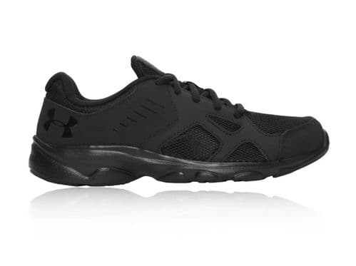 Under Armour Junior Pace GS Running Trainers Shoes Sneakers Black UK3 EU35.5