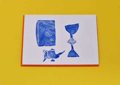 Chalice, Vase and Book