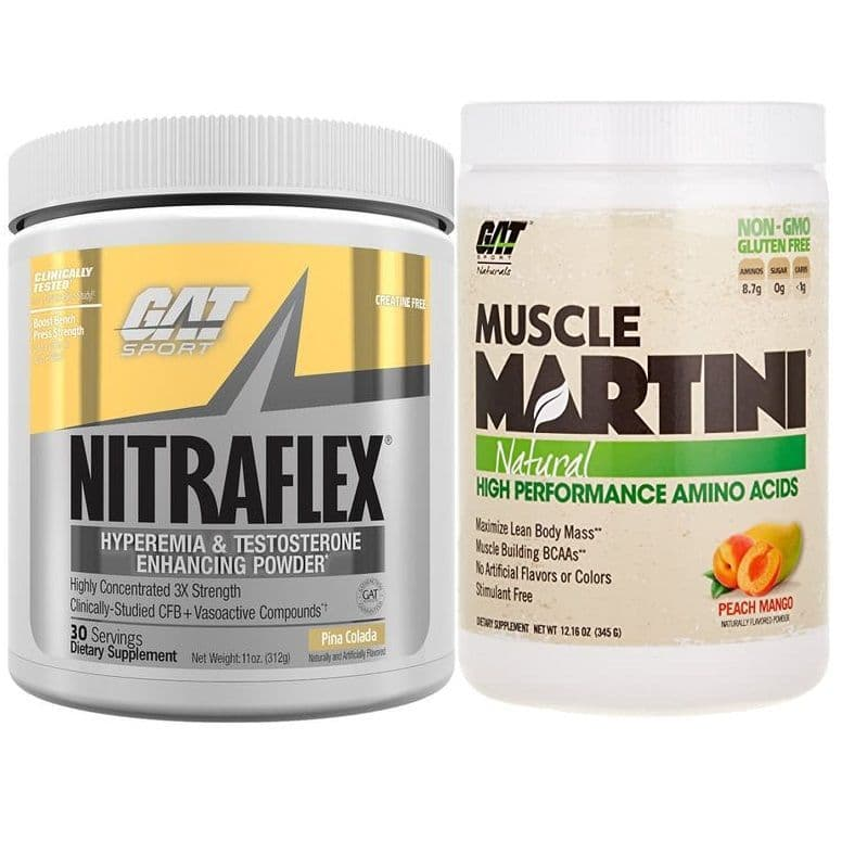 GAT NITRAFLEX MUSCLE MARINADE BUNDLE