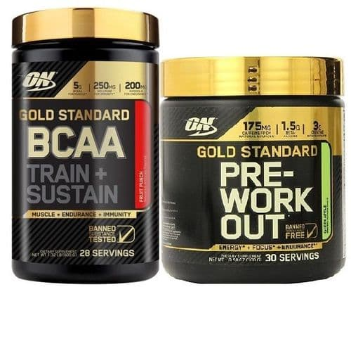 Pre Workout BCAA Bundle