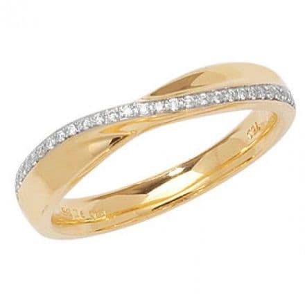 18CT CROSSOVER BAND, WQ241