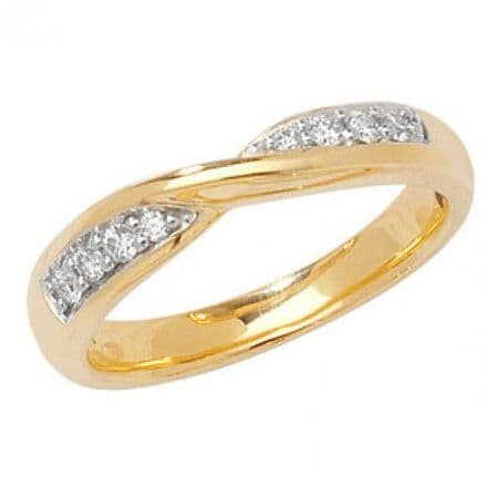 18CT CROSSOVER BAND, WQ242