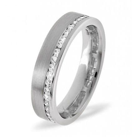Palladium 0.54ct G/vs Diamond Wedding Band, WB03-54VSP
