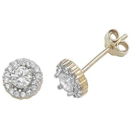 Just Gold Earrings -Gold Baby Earring Studs, ES293