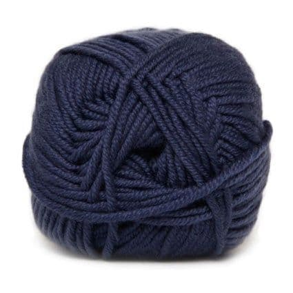 Hjertegarn MERINO COTTON blue 2163