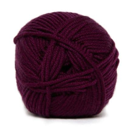 Hjertegarn MERINO COTTON burgundy 9235