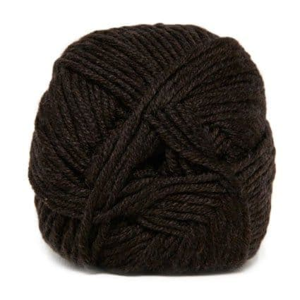 Hjertegarn MERINO COTTON dark brown 294