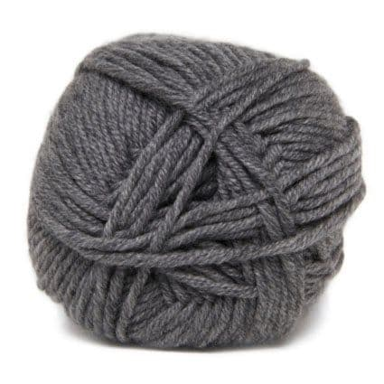 Hjertegarn MERINO COTTON mid grey 435