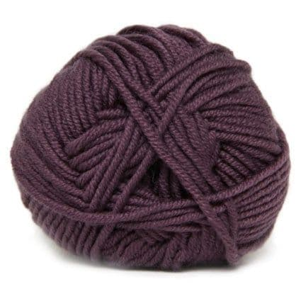 Hjertegarn MERINO COTTON plum 1850