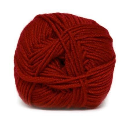 Hjertegarn MERINO COTTON red 2060