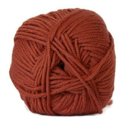 Hjertegarn MERINO COTTON rust 1343