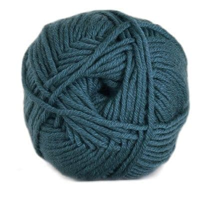 Hjertegarn MERINO COTTON teal 4718