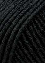 Lang Yarns MERINO 70 black 0004