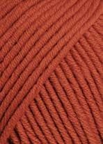 Lang Yarns MERINO 70 dusky orange 0075