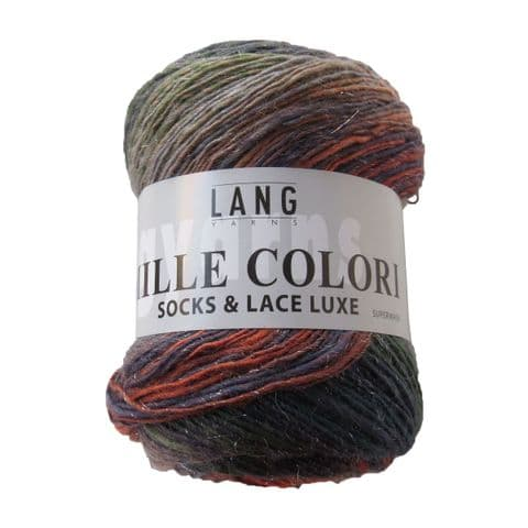Lang Yarns MILLE COLORI Socks & Lace LUXE 57
