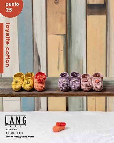 Lang Yarns PUNTO 25 Layette Cotton