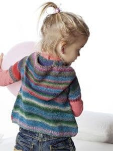 MILLE COLORI BABY WRAP TOP with HOOD Free Pattern
