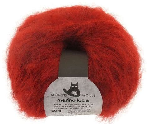 Schoppel-Wolle MERINO LACE 2283 red earth