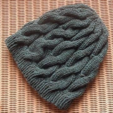 YAK CABLE BEANIE Free Pattern
