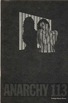 Anarchy Journal No 113 1970 Women in Prison Marjorie Holt Sally Anne Harry Harmer