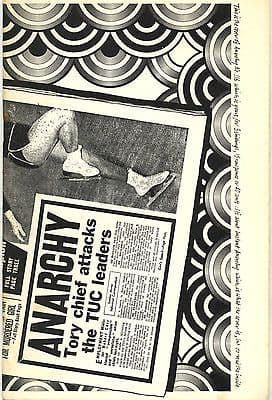 Anarchy Journal No 116 1970 Noam Chomsky Graham Whiteman Colin Ward Bill Dwyer