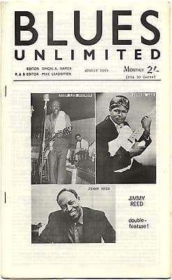 Blues Unlimited Magazine No 14 August 1964 Andre Williams Son House Little Son Willis