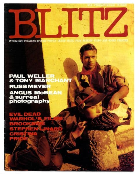 Blitz Magazine No 9 February/March 1984 Russ Meyer Paul Weller, Andy Warhol Angus McBean Evil Dead