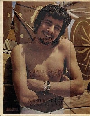 Cat Stevens size approx 10X13 inch pinup poster size press cutting/clipping 1967