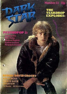 Dark Star Magazine Issue No 26 June 1981 New Order Modern English Julian Cope Grace Slick Modern