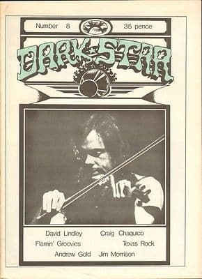 Dark Star Magazine No 8 April 1977 Jim Morrison Doors Craig Chaquico Flamin Groovies David Lindley